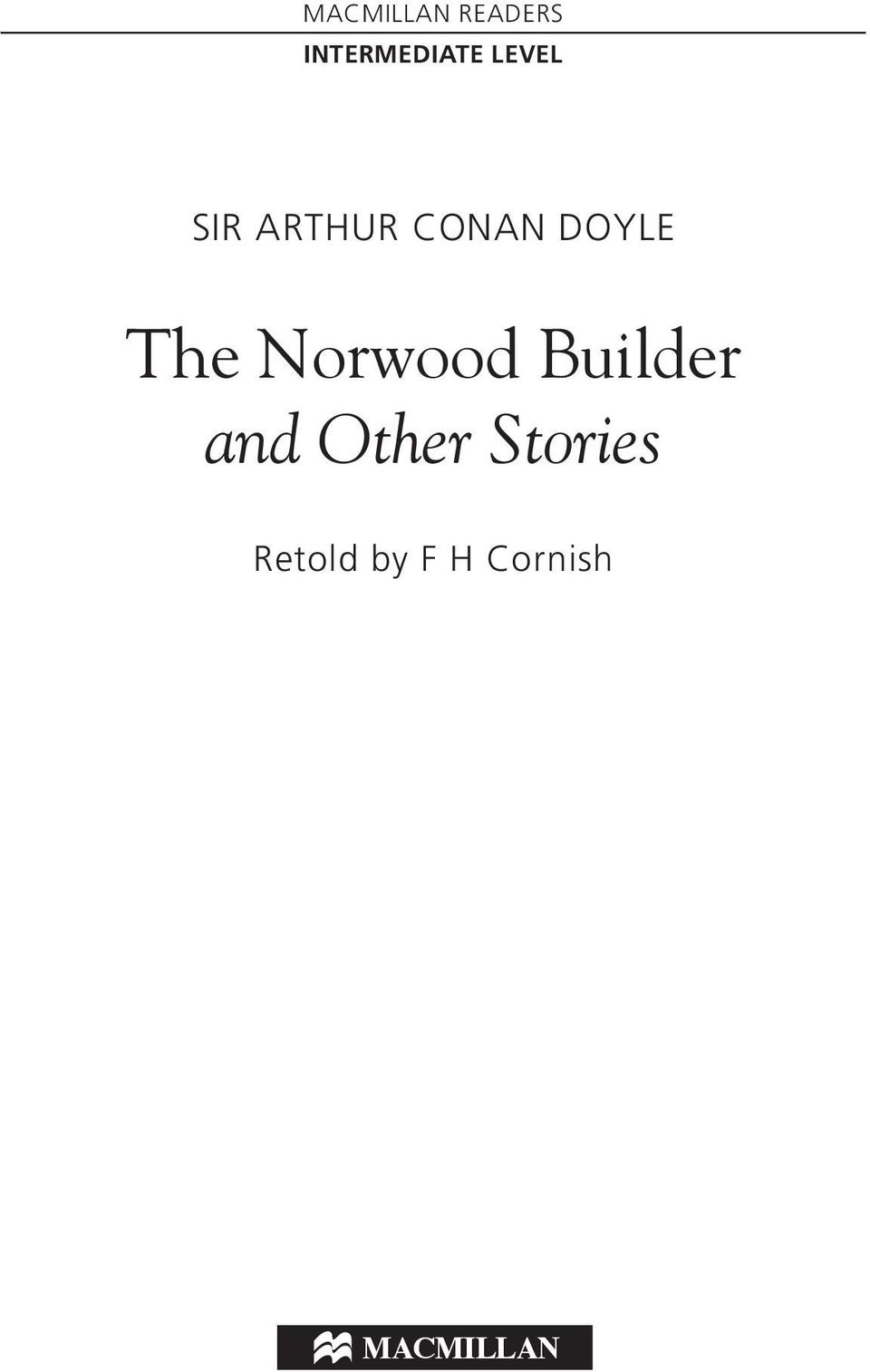 Norwood Builder and Other