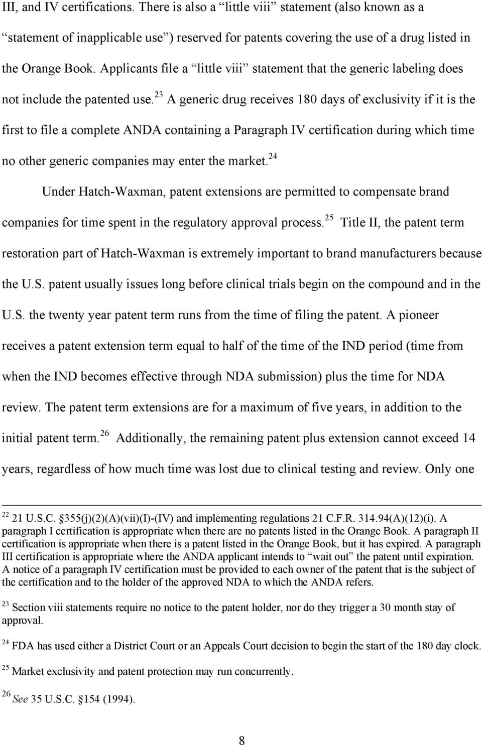 Determinants Of Patenting In The Us Pharmaceutical Industry By