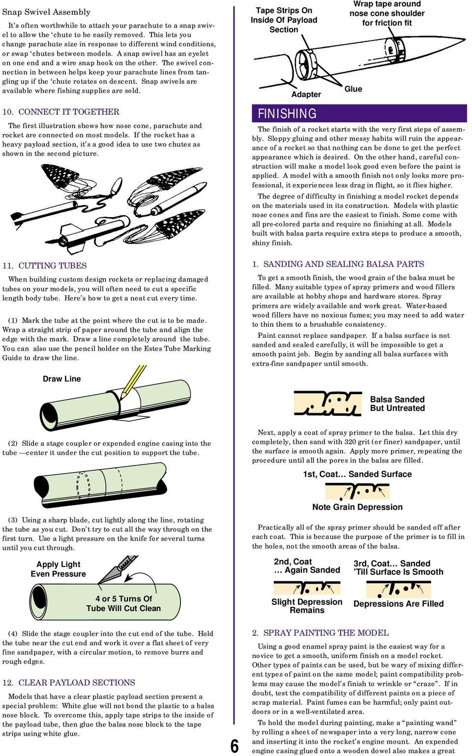 Model Rocketry Technical Manual Pdf Barrel Swivel With Interlock Snap Pioneer No 5 7 The Connection In Between Helps Keep Your Parachute Lines From Tangling Up If Chute