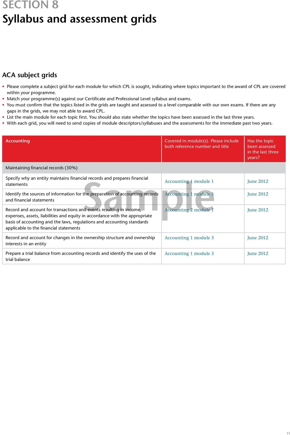 credit for prior learning cpl guidance and application for higher