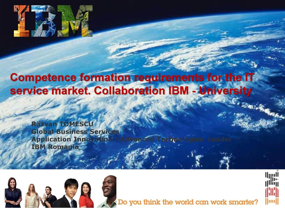 Collaboration IBM - University Răzvan TOMESCU