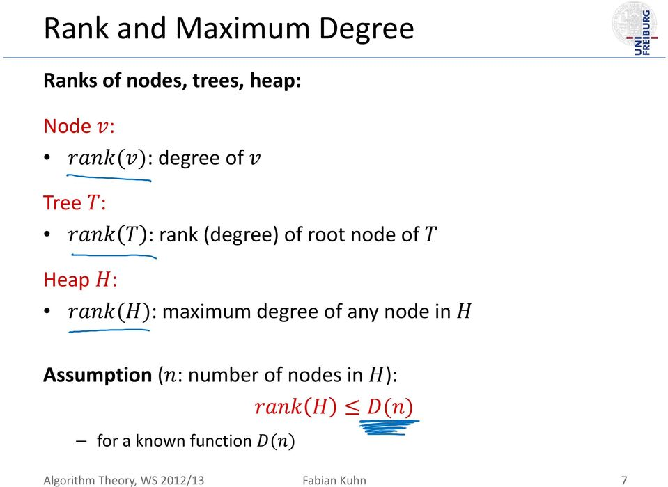 maximum degree of any node in Assumption ( : number of nodes