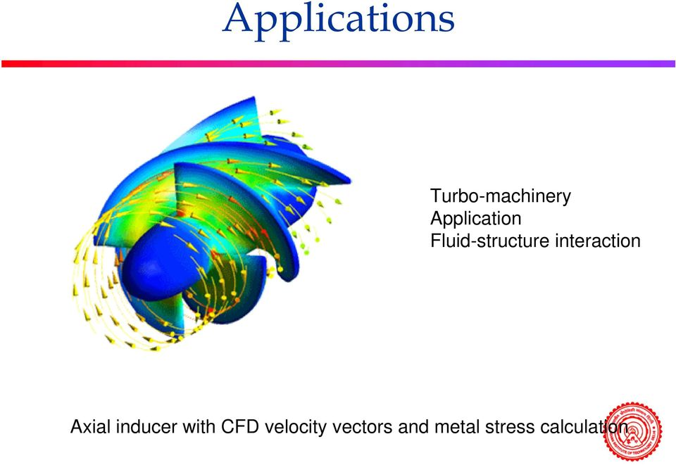 interaction Axial inducer with CFD