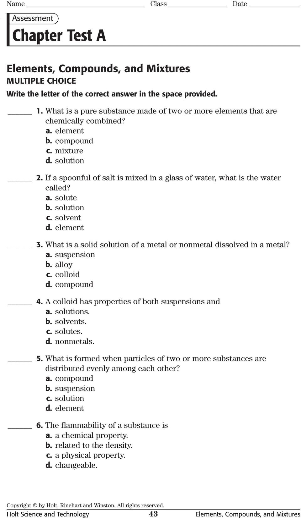 Holt Science And Technology Worksheet Answers - Checks Worksheet
