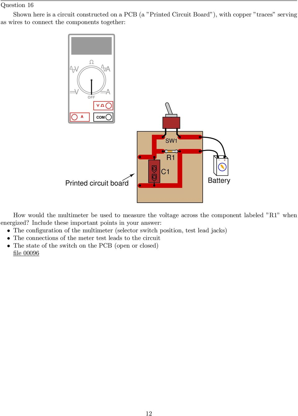 Simple Circuits Worksheet Pdf Spst And Ptm Switch Component Labeled R1 When Energized