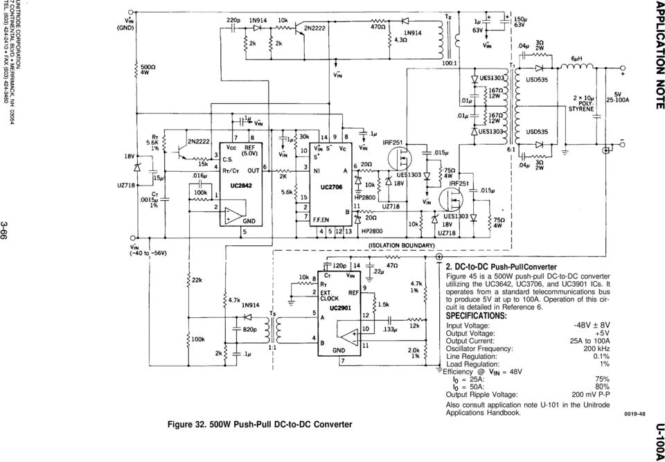 application note uc3842  3  4  5 provides low-cost current-mode control