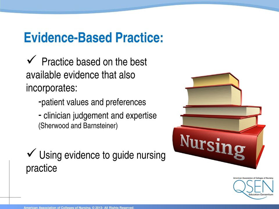 values and preferences - clinician judgement and
