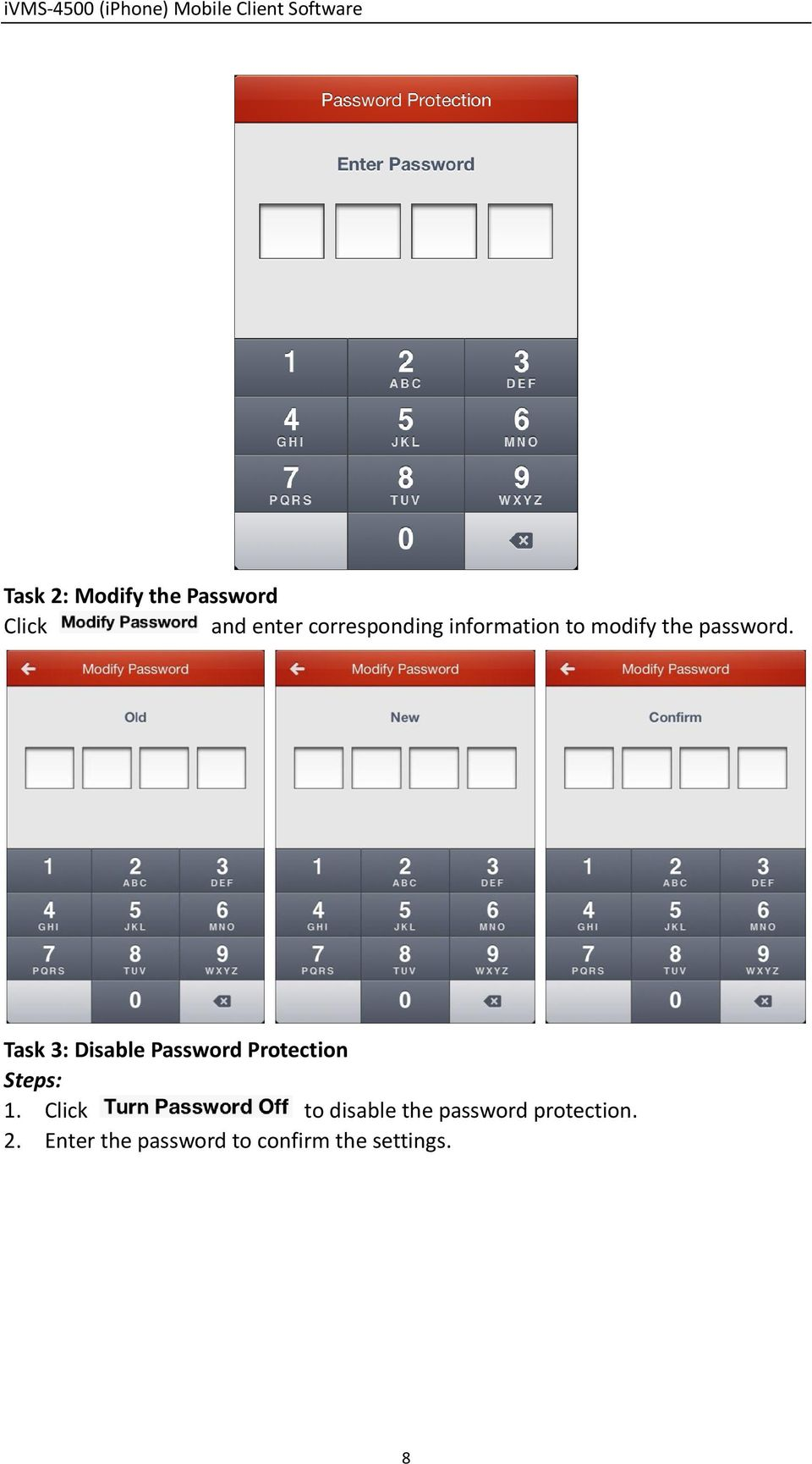 Task 3: Disable Password Protection Steps: 1.