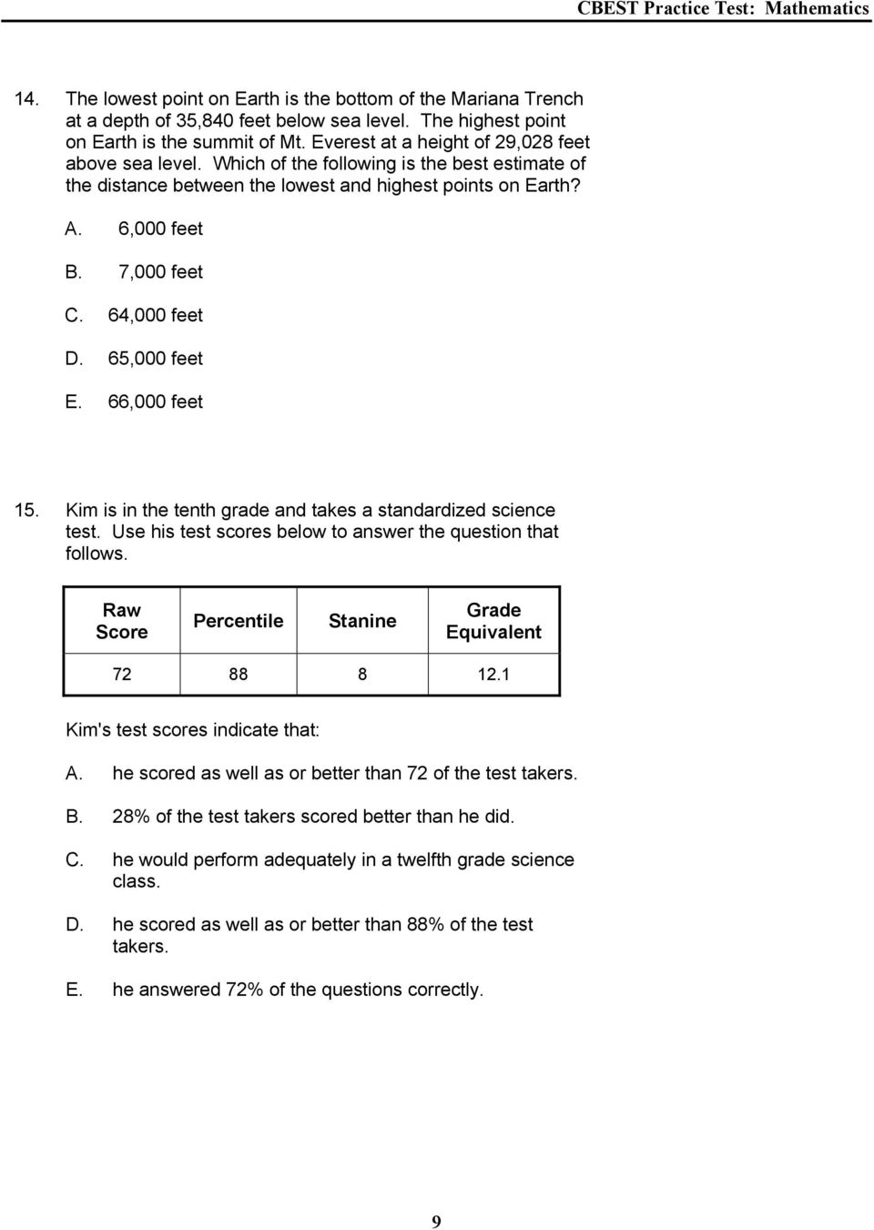 3rd Grade Math Staar Test Practice Worksheets Worksheets