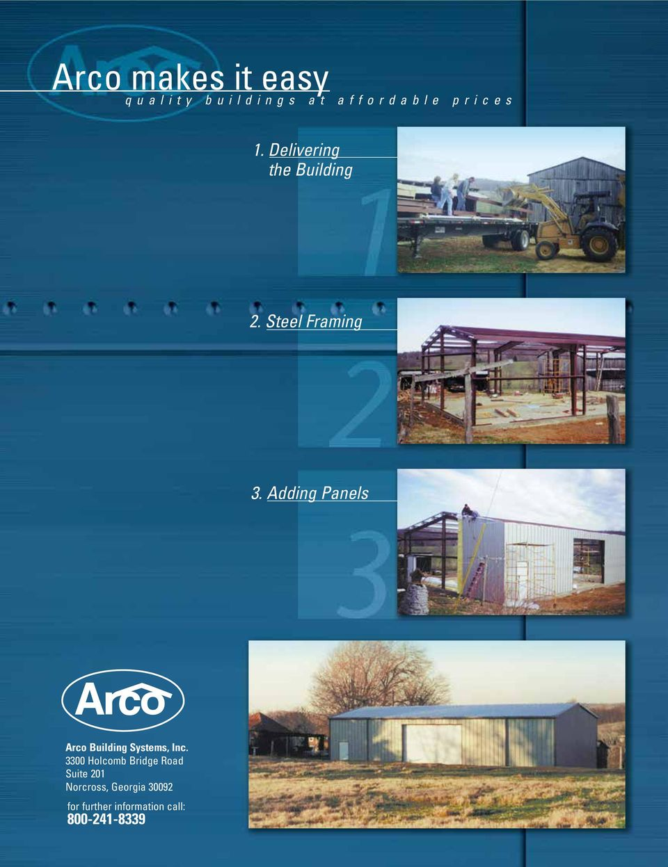 Adding Panels Arco Building Systems, Inc.