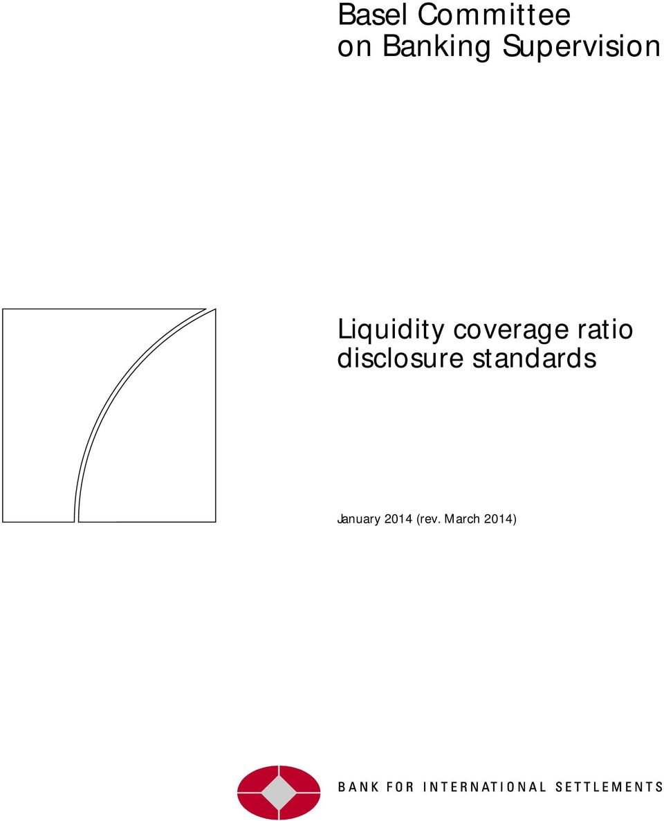 coverage ratio disclosure