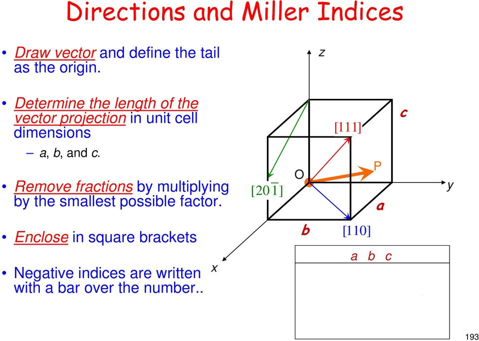 Remove fractions by multiplying by the smallest possible factor.