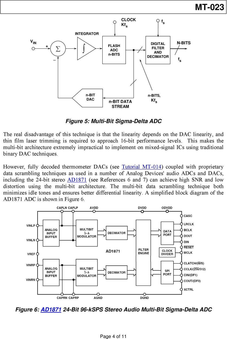 ADC Architectures IV: Sigma-Delta ADC Advanced Concepts and