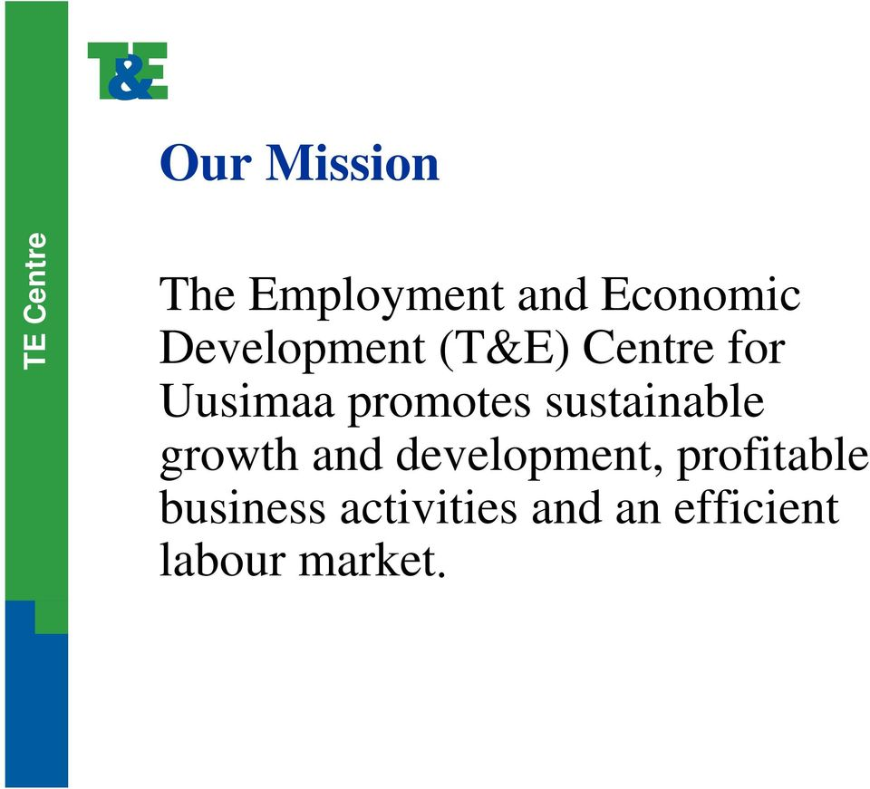 sustainable growth and development,