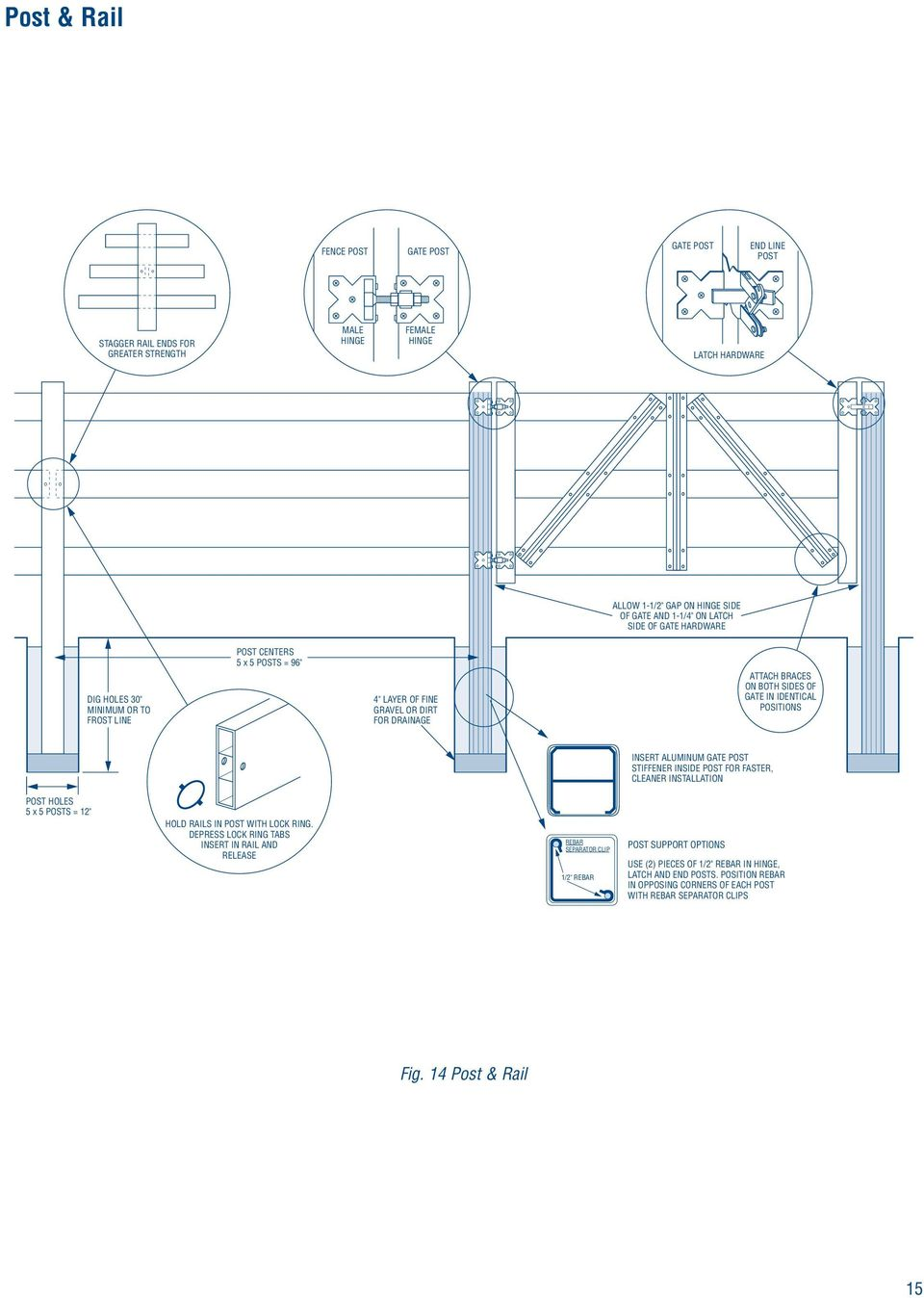 Vinyl Fence Installation Instructions - PDF