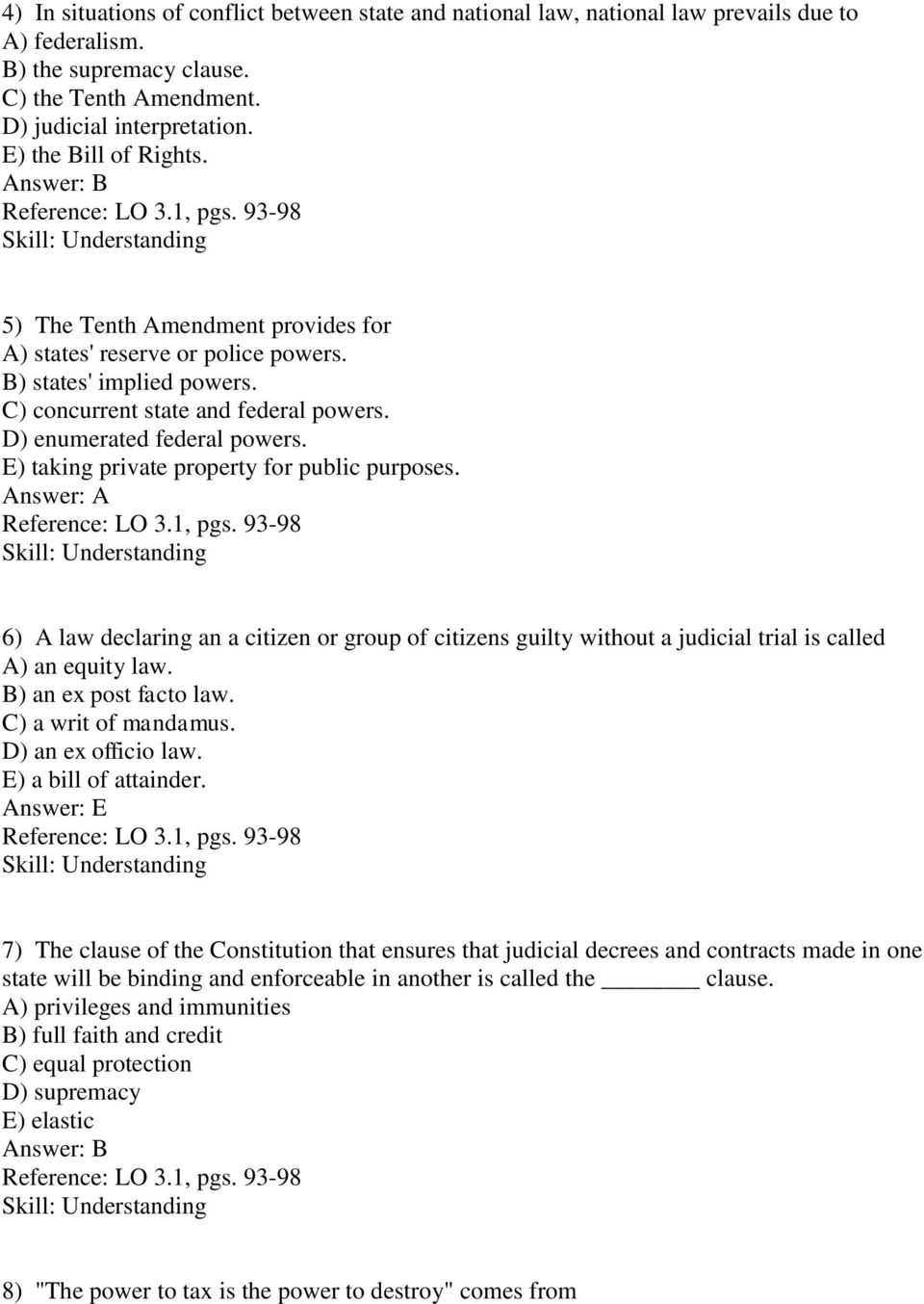 worksheet Fiscal Federalism Worksheet collection of chapter 3 federalism worksheet answers adriaticatoursrl reading comprehension quiz multiple choice