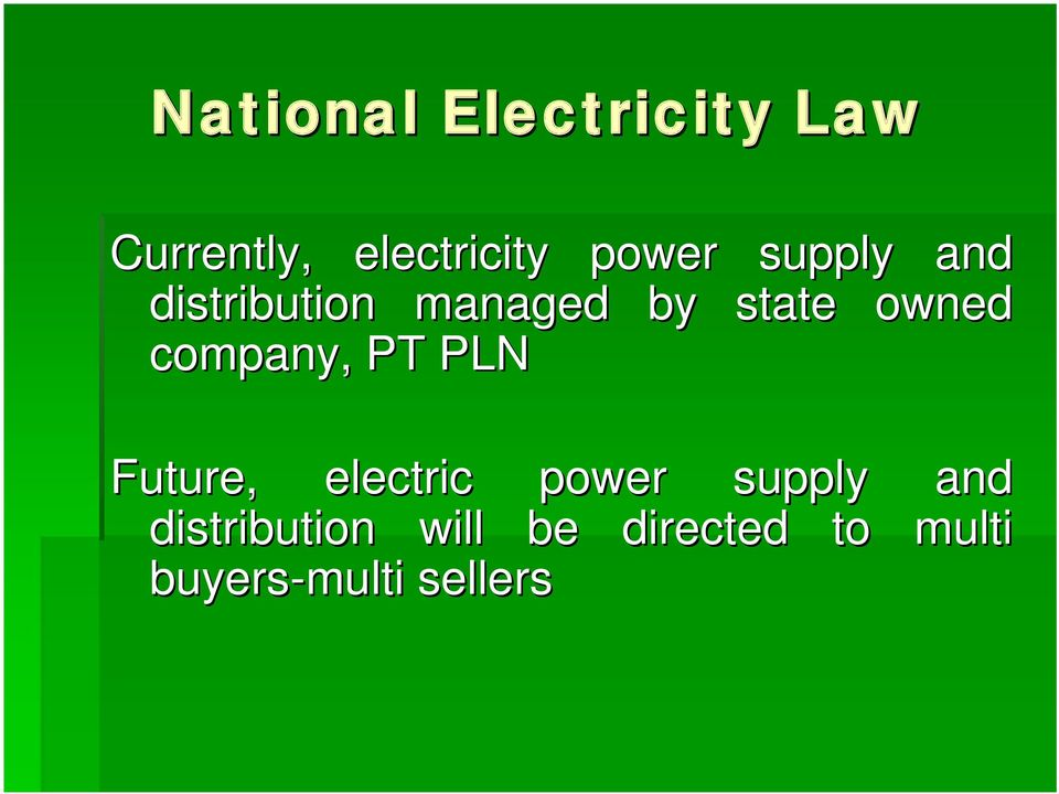 company, PT PLN Future, electric power supply and
