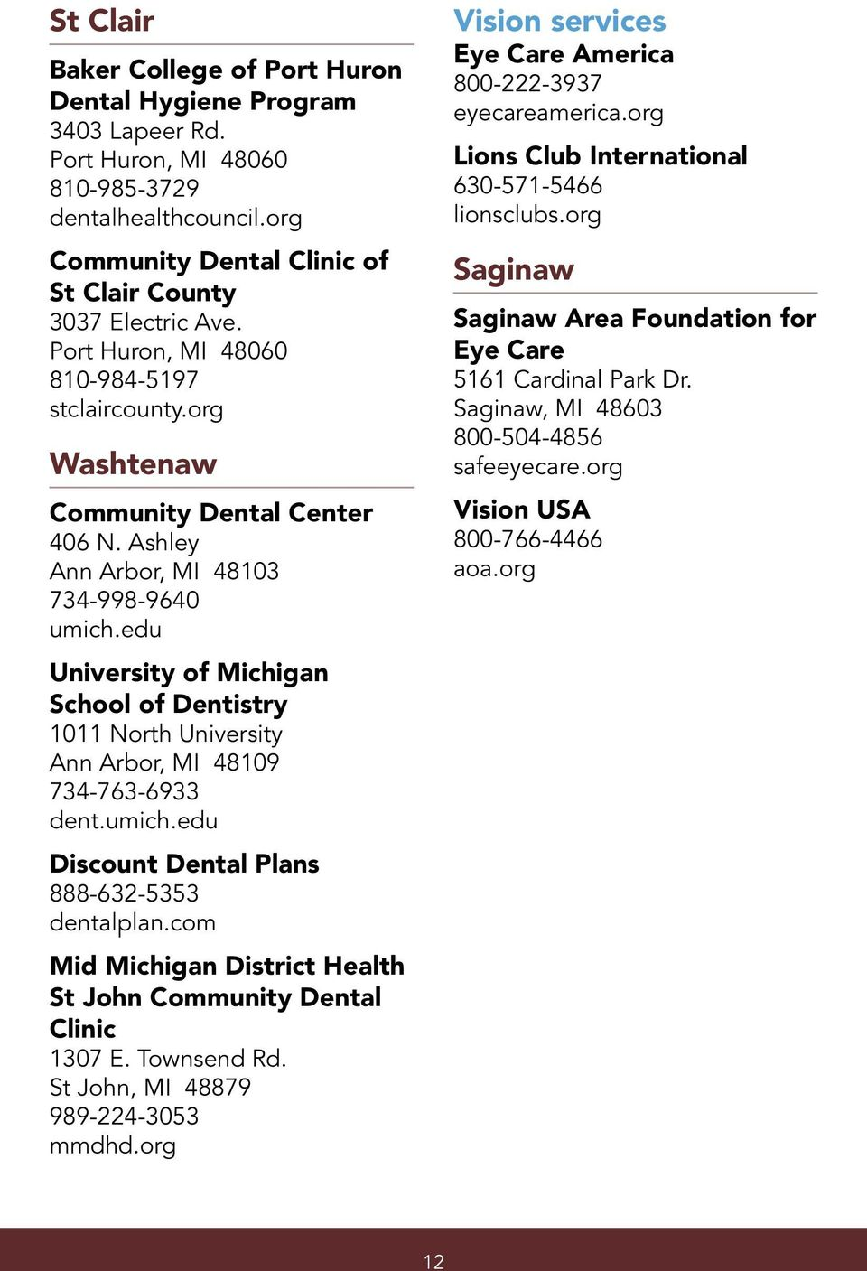 Help With Health Care  Resources for the uninsured  Mid