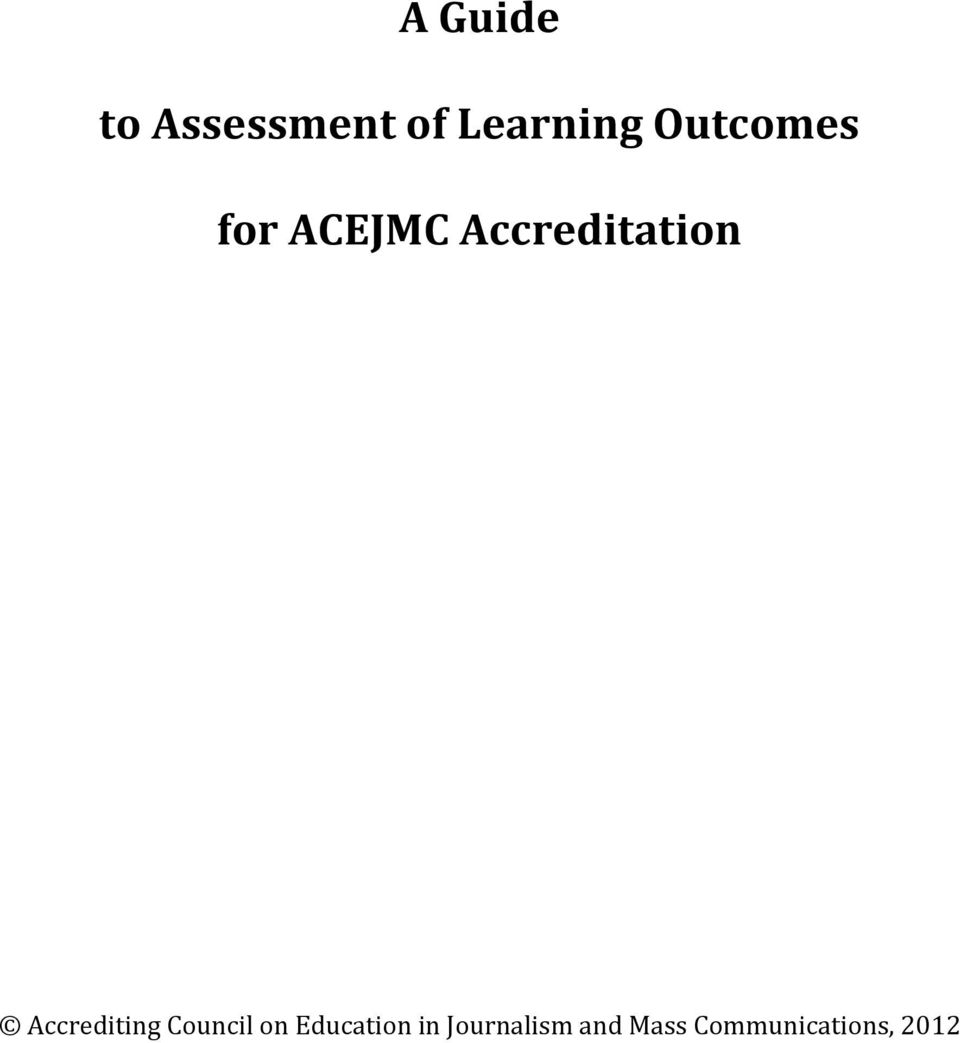 Accrediting Council on Education in