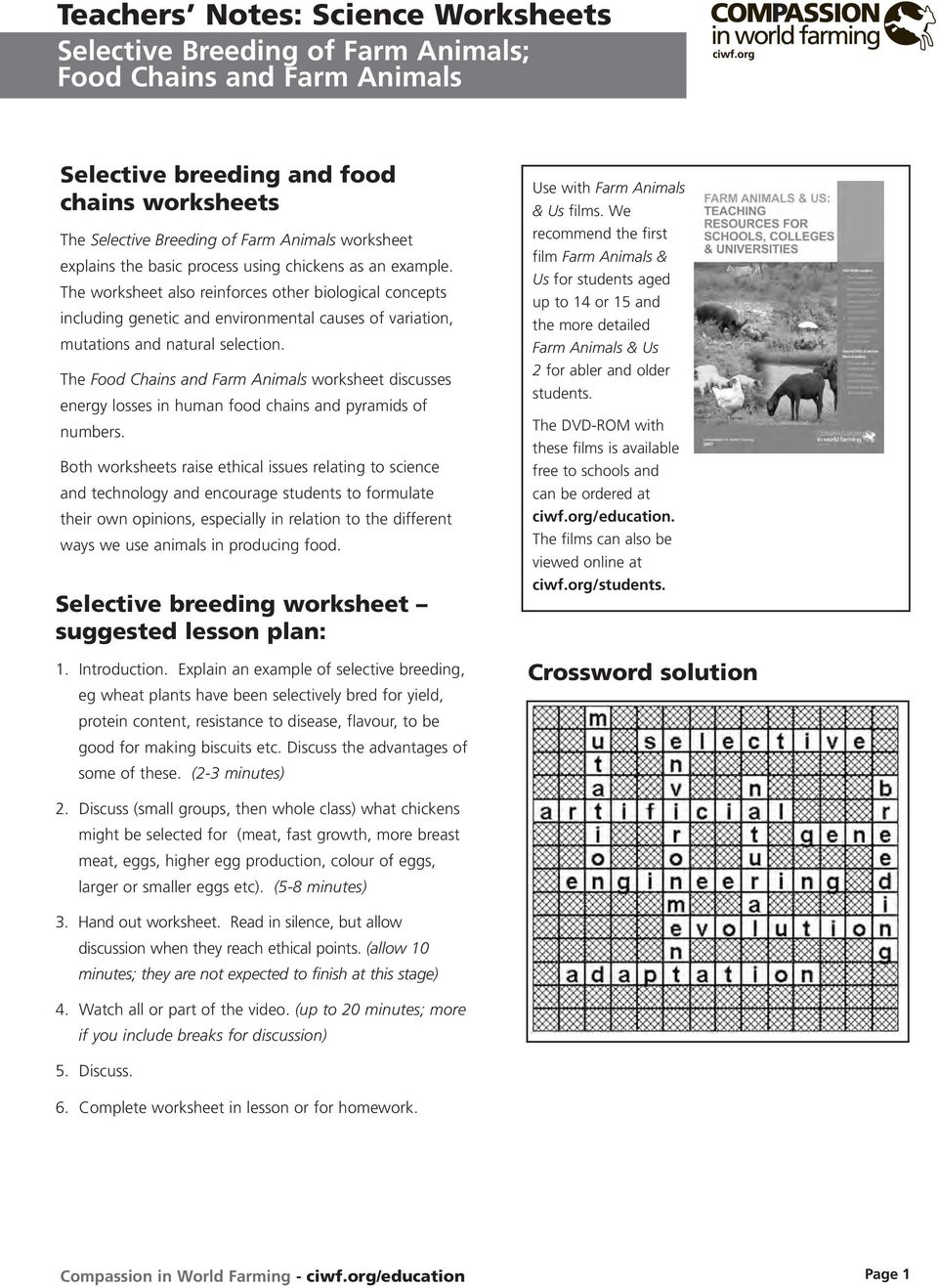Teachers Notes Science Worksheets Pdf
