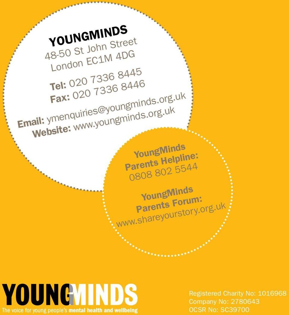 uk Website: www.youngminds.org.