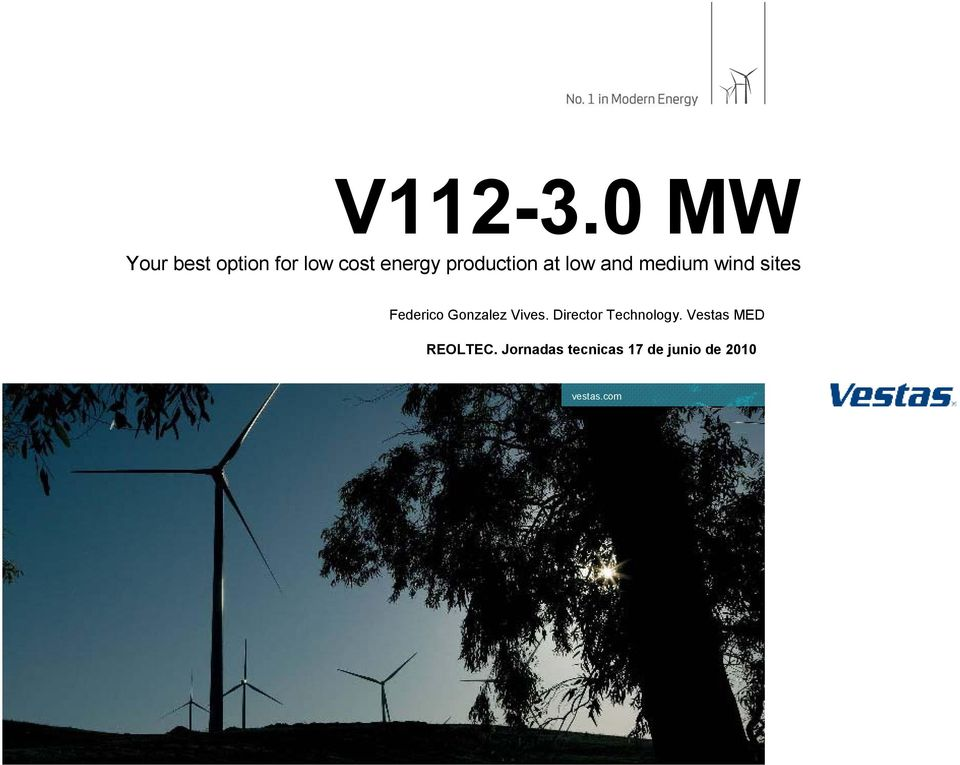 production at low and medium wind sites Federico