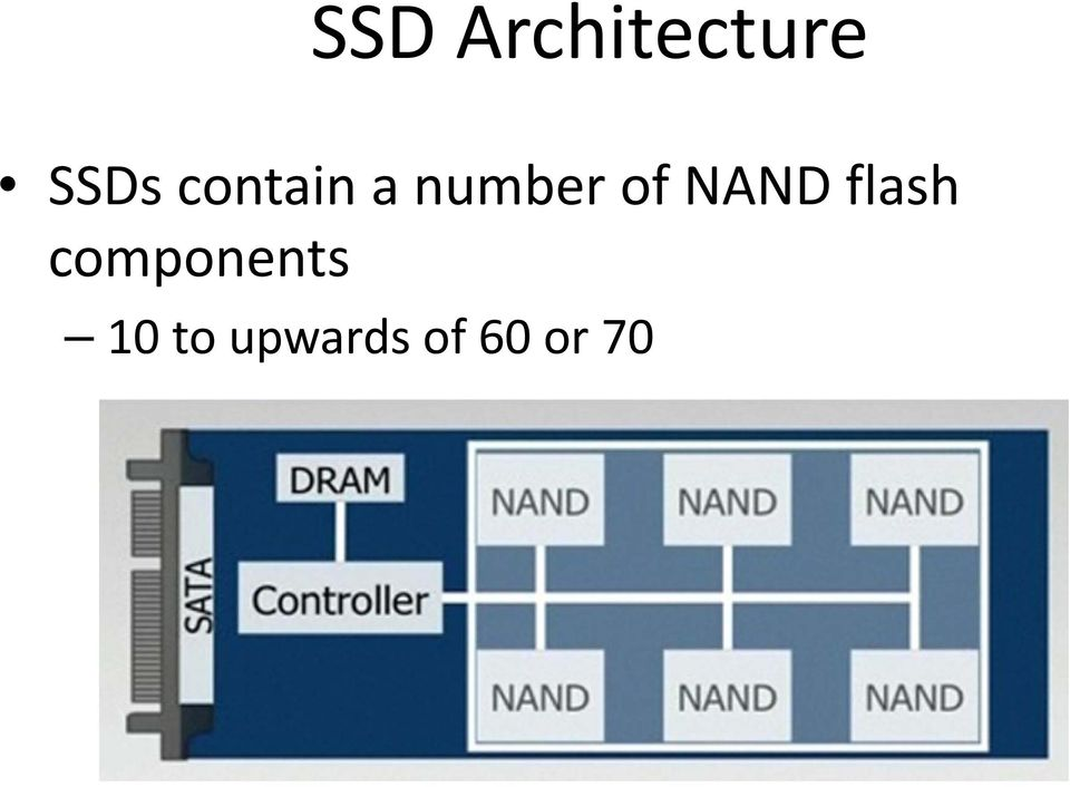 NAND flash components