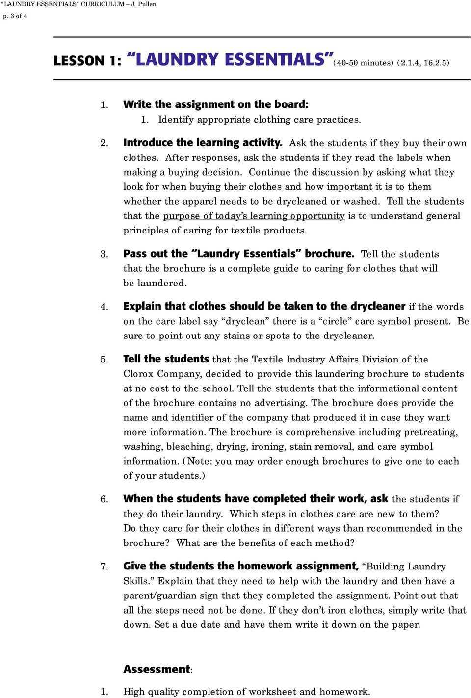 Building laundry skills pdf continue the discussion by asking what they look for when buying their clothes and how important buycottarizona Gallery