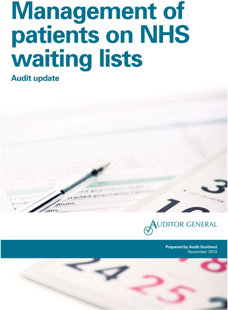 Audit update Prepared by