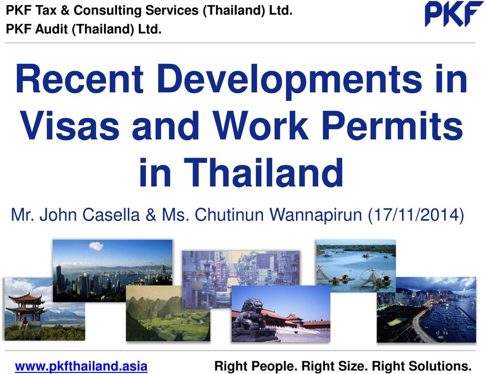 Recent Developments in Visas and Work Permits in
