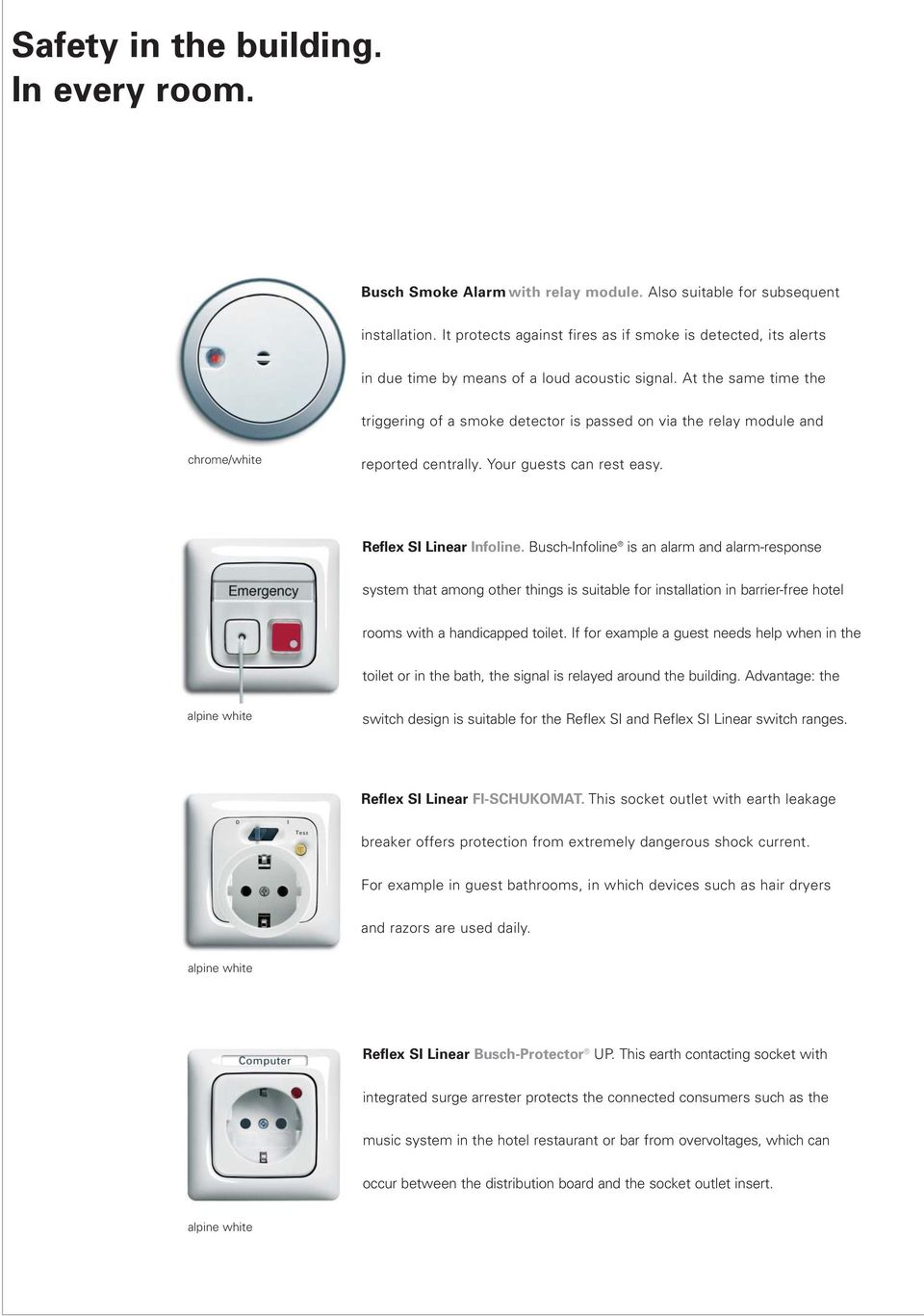 Modern electrical installation technology in hotels - PDF