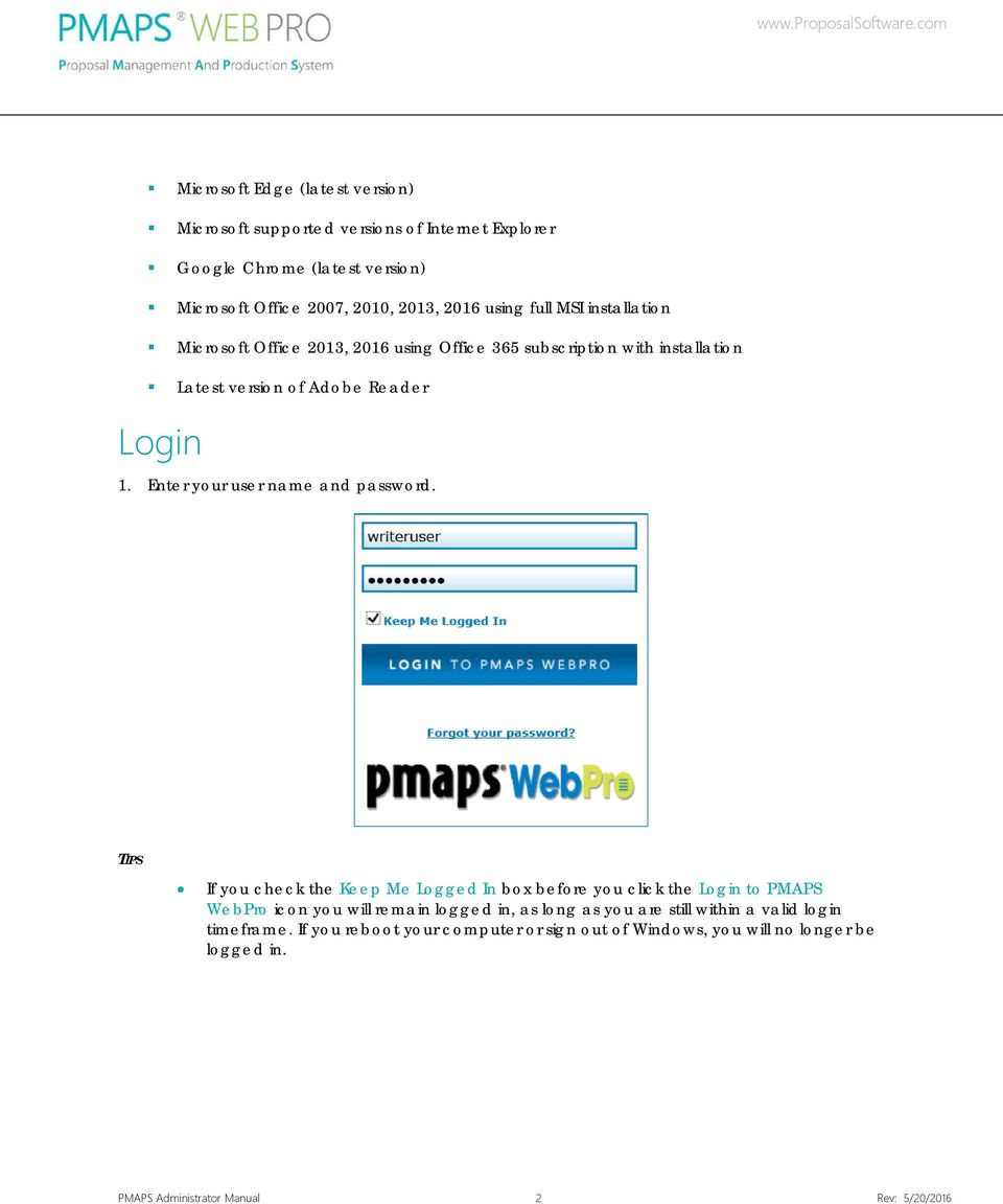 Enter your user name and password.