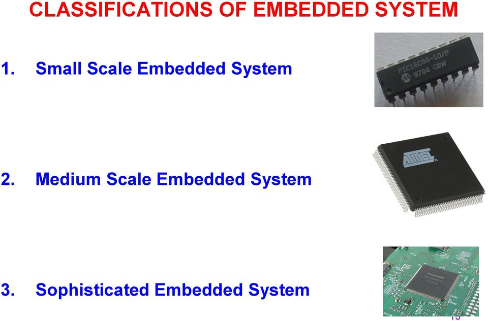 Small Scale Embedded System 2.