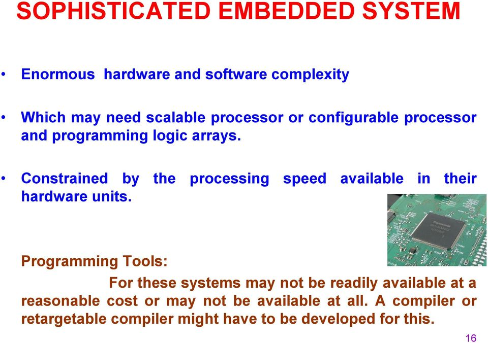EMBEDDED SYSTEM BASICS AND APPLICATION - PDF