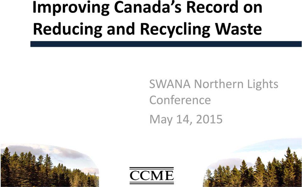 Waste SWANA Northern
