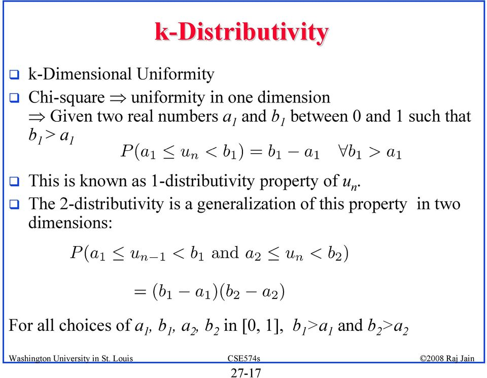 such that b 1 > a 1! This is known as 1-distributivity property of u n.