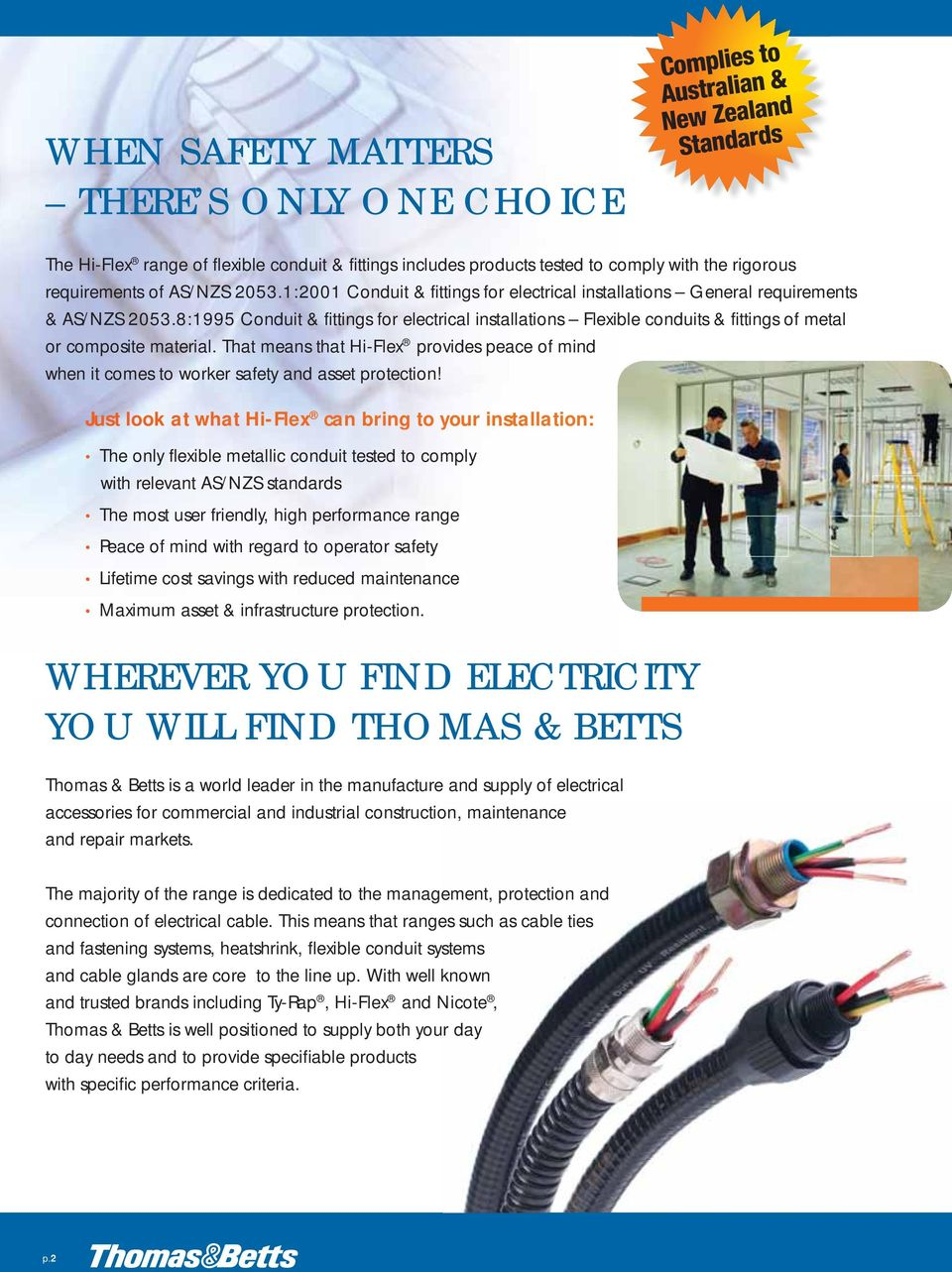 Complies To Australian New Zealand Standards Flexible Conduit Wiring Code Colours 81995 Fittings For Electrical Installations Conduits Of Metal Or