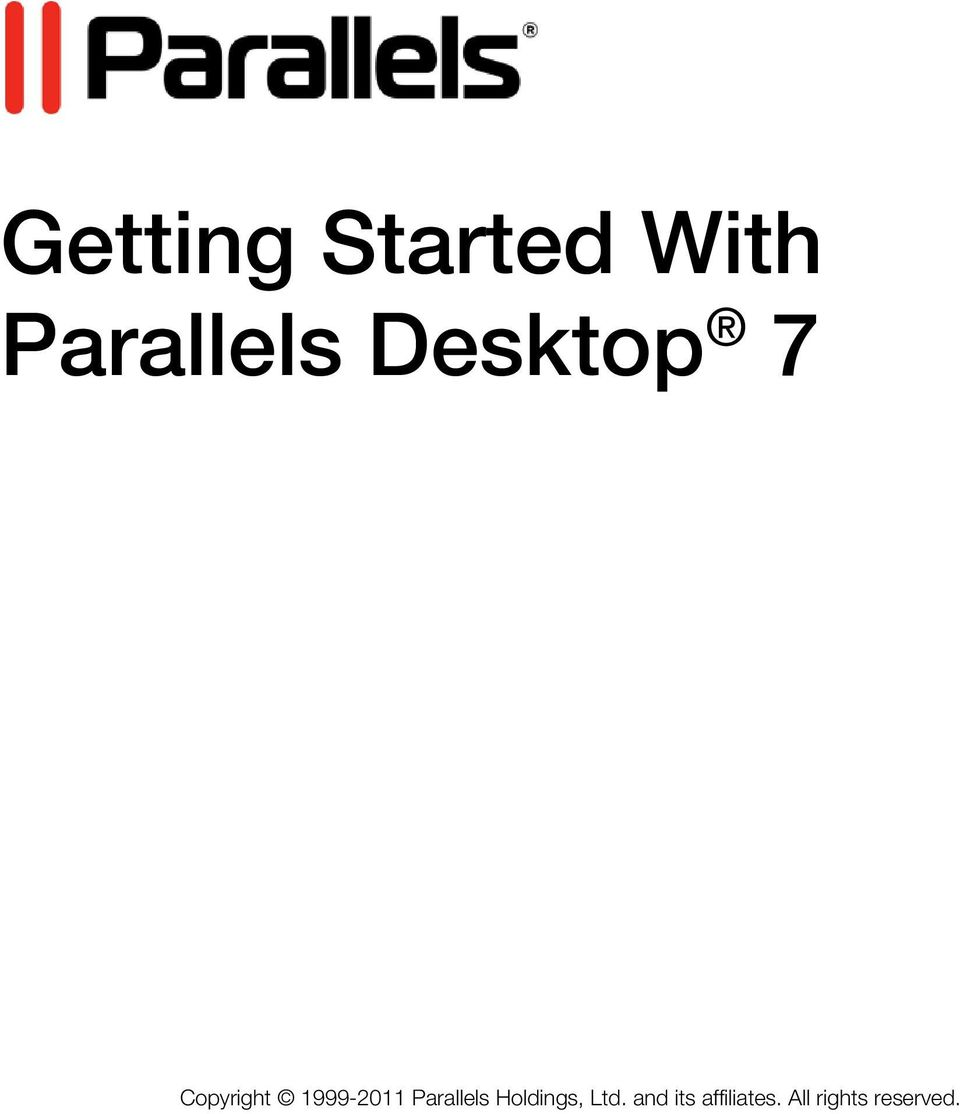 Parallels Holdings, Ltd.