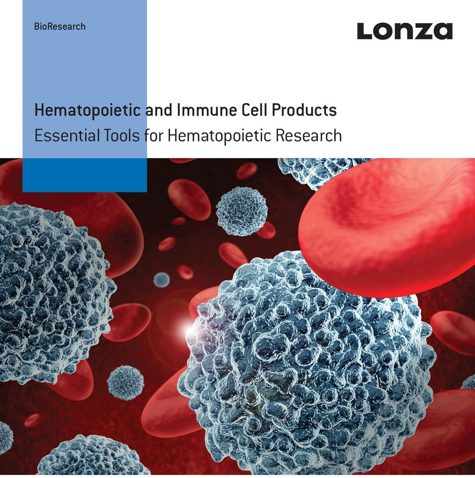 Immune Cell Products