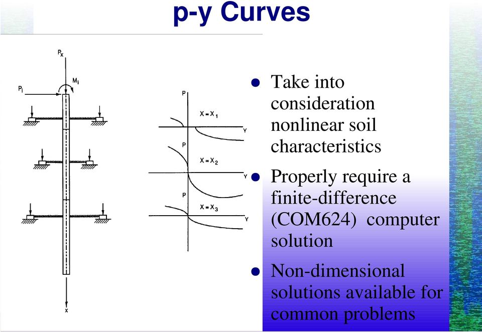 finite-difference (COM624) computer solution