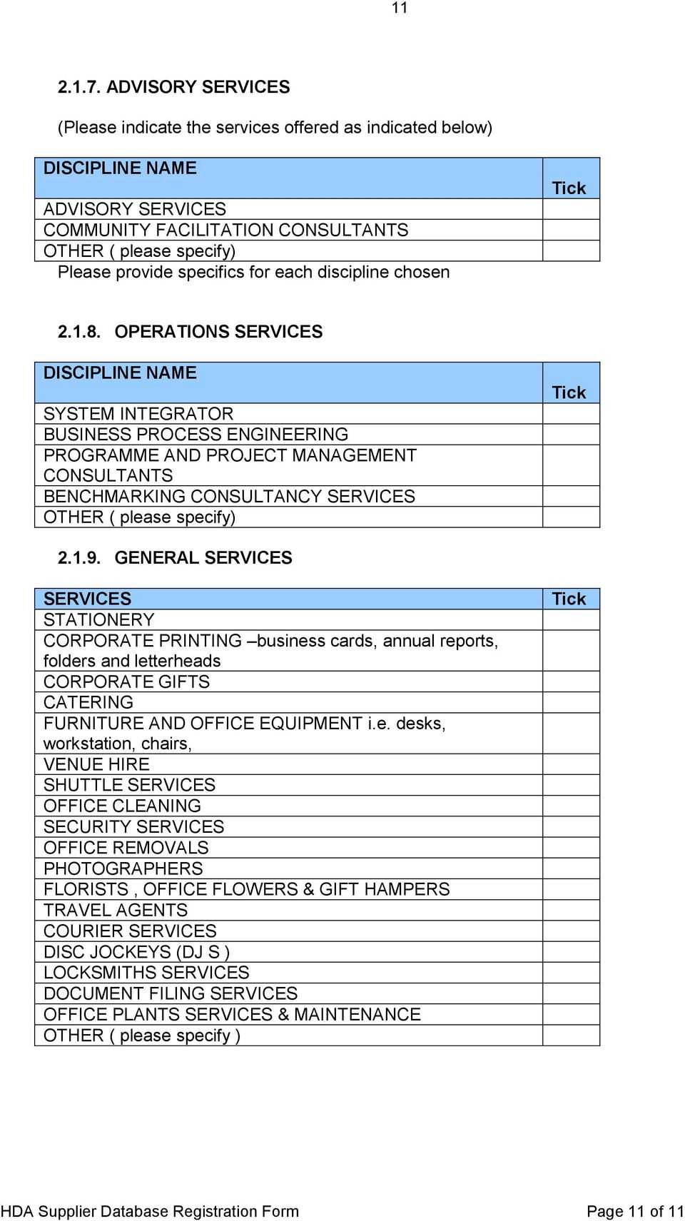 GENERAL SERVICES SERVICES STATIONERY CORPORATE PRINTING busines