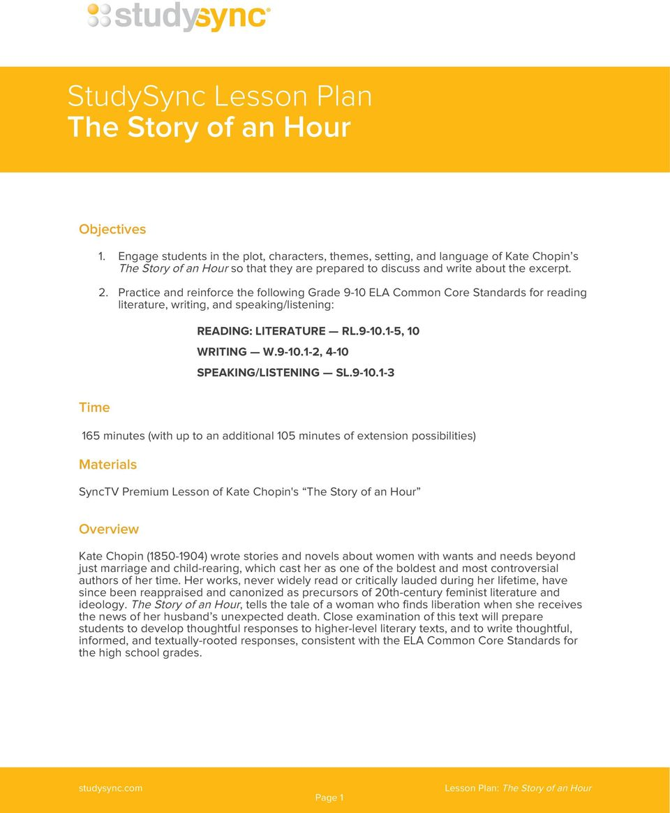the story of an hour emancipation