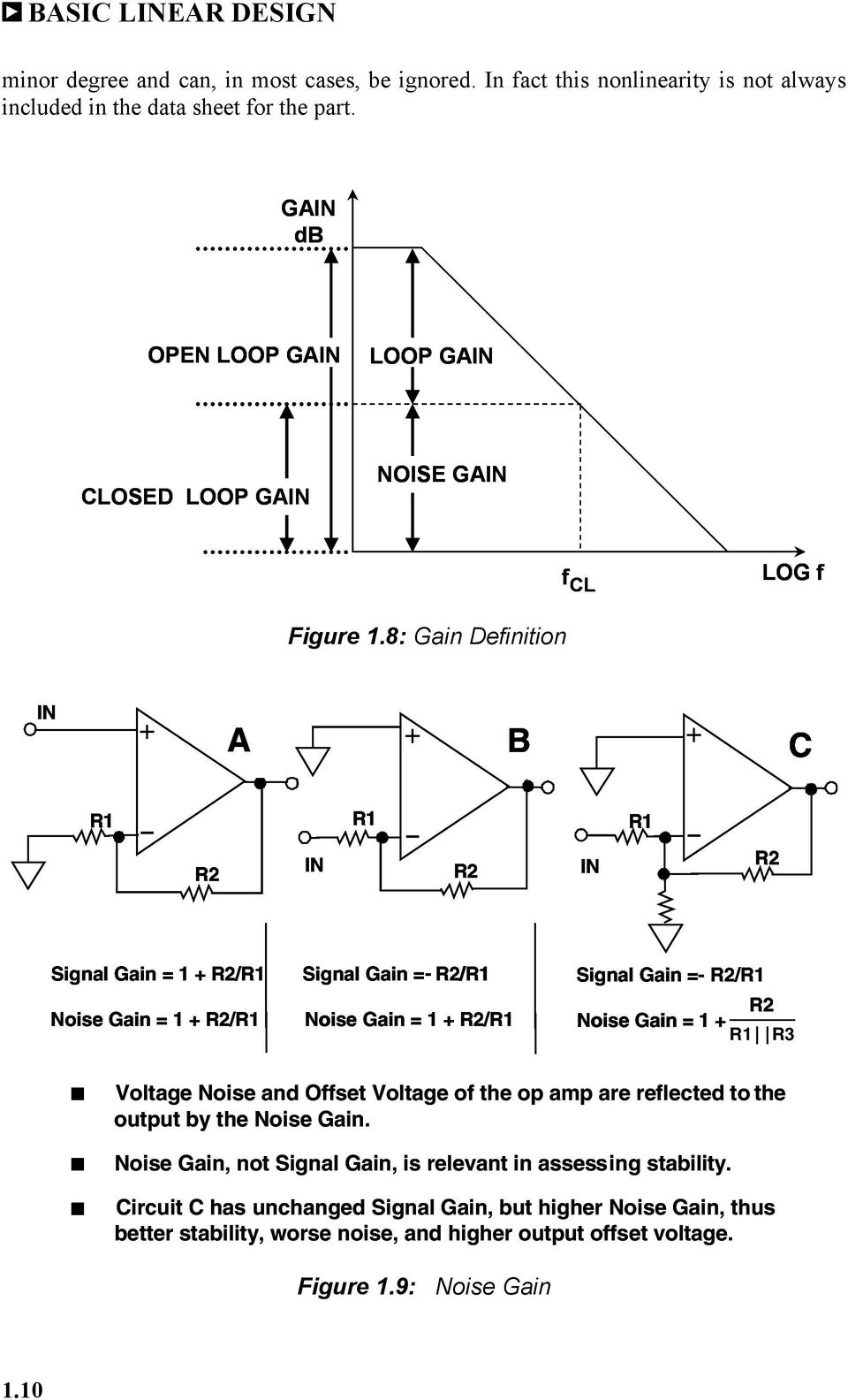 Chapter 1 The Op Amp Pdf Amplifier Above Consists Of Two 741 Amps In A Follower With Gain 8 Definition B C R1 R2 15 Bandwidth Product
