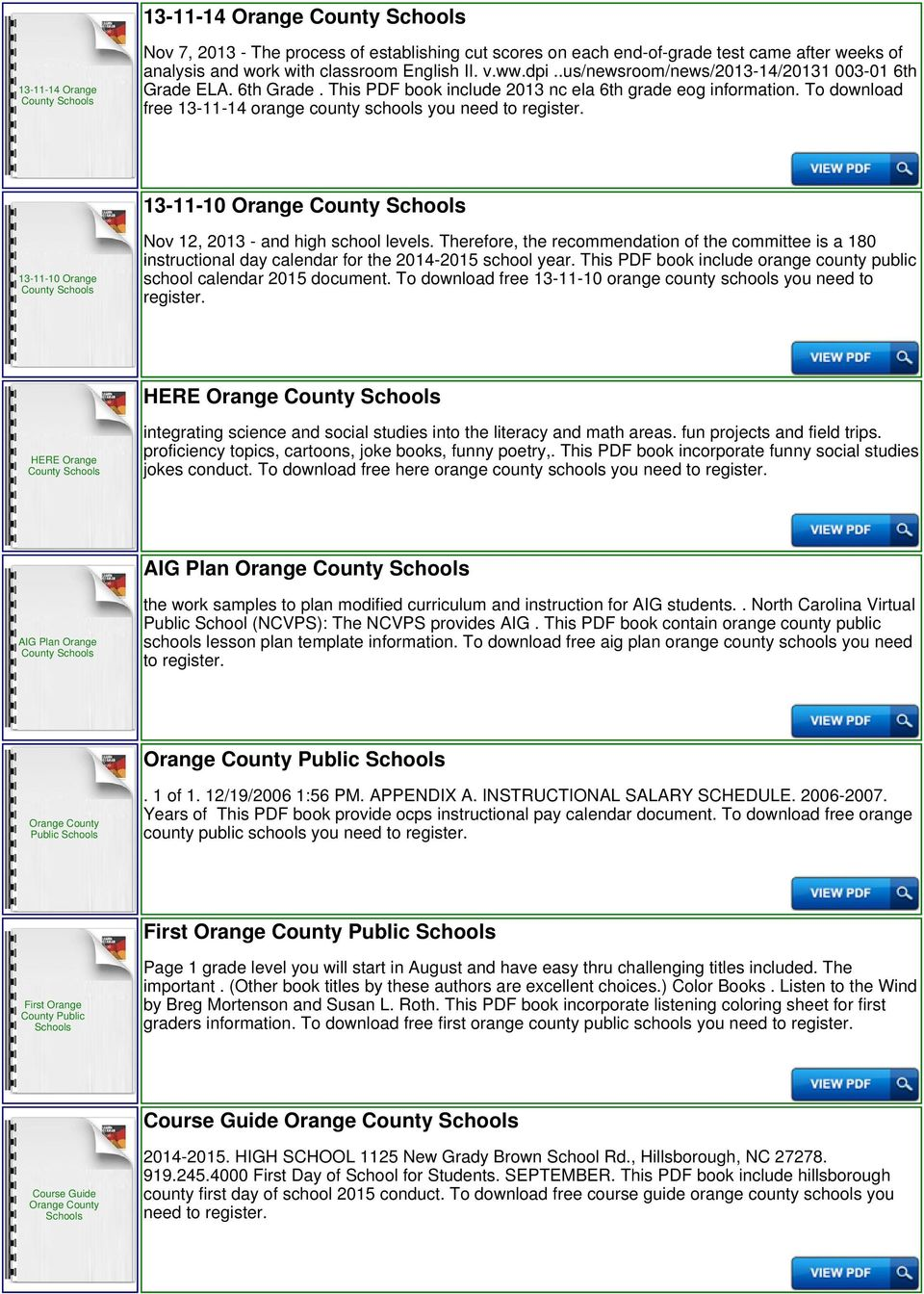 To download free 13-11-14 orange county 13-11-10 13-11-10 Orange Nov 12, 2013 - and high school levels.
