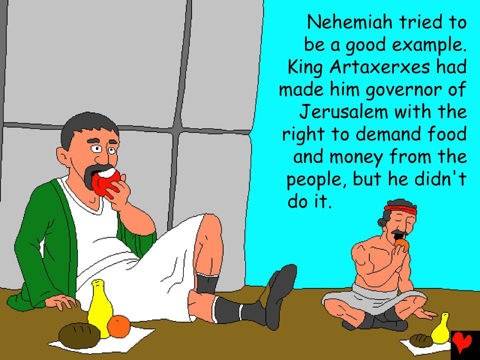Jerusalem with the right to demand food