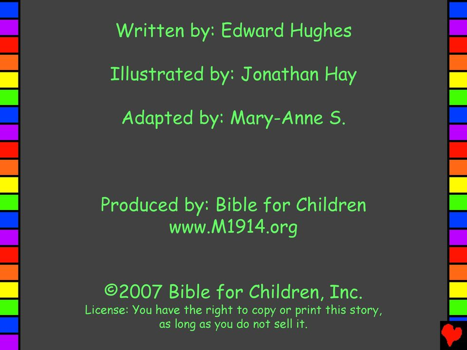m1914.org 2007 Bible for Children, Inc.