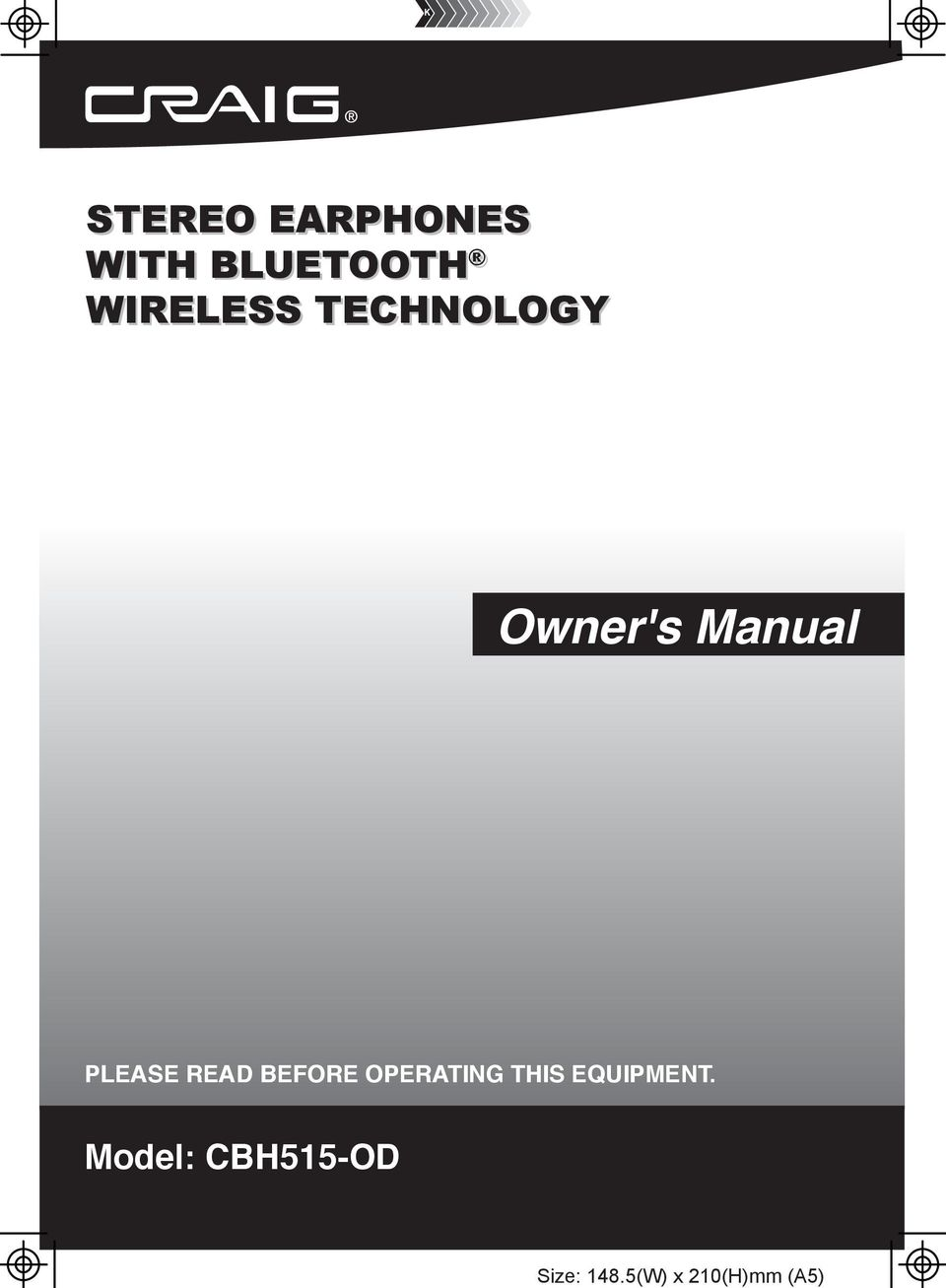 WITH BLUETOOTH WIRELESS TECHNOLOGY