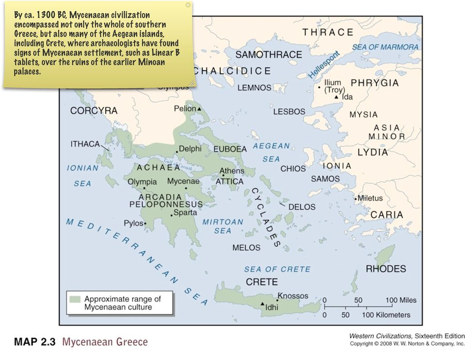 southern Greece, but also many of the Aegean islands, including