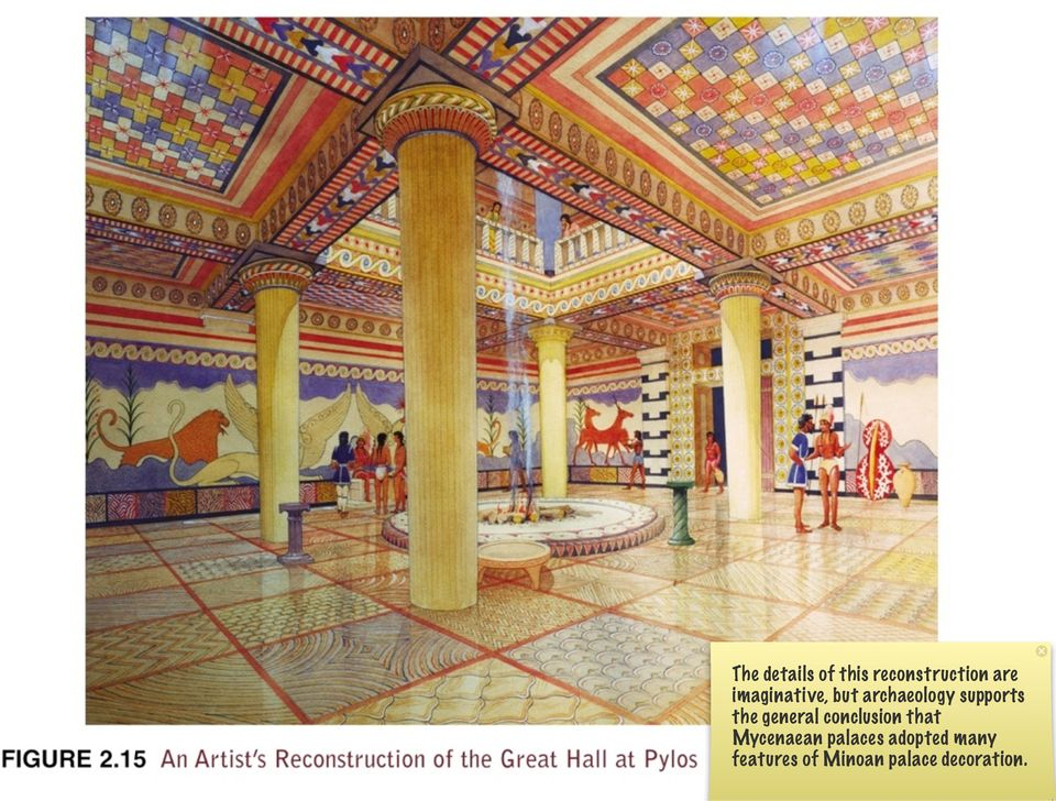 general conclusion that Mycenaean palaces