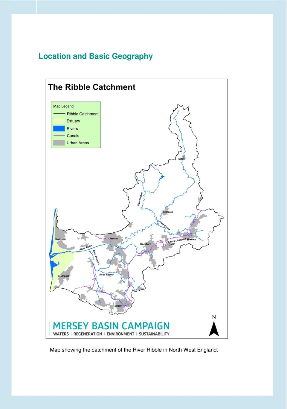 the catchment of the